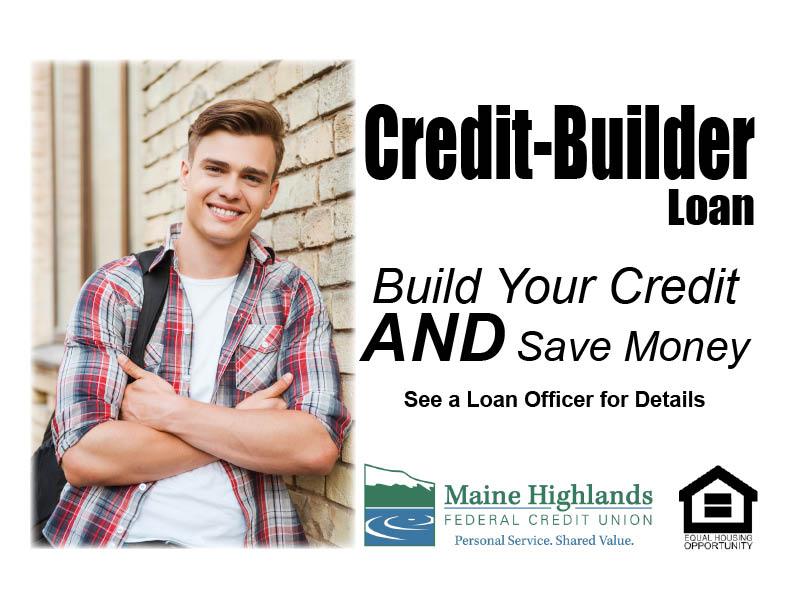 Credit builder loan ad